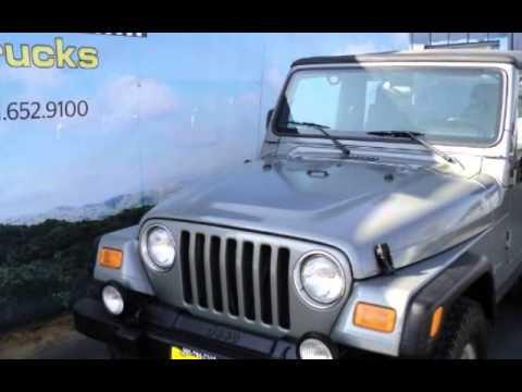 used 2004 jeep wrangler sport soft top for sale in hemet ca used jeeps for sale youtube. Black Bedroom Furniture Sets. Home Design Ideas