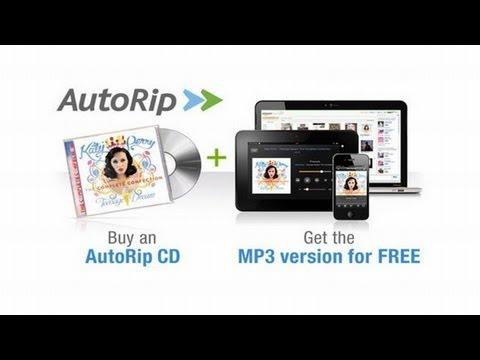 Amazon AutoRip - MP3 gratuitos de los discos físicos comprados