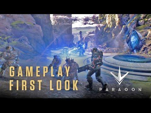 видео: paragon - Первый Геймплей