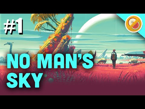 No Man's Sky Gameplay   PLANETS, TRADING, RESOURCES... SPACE! Let's Play Part 1 (PS4)