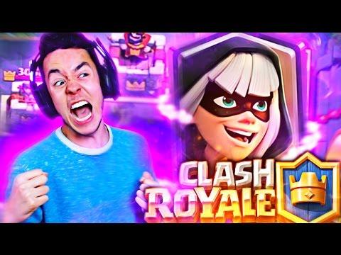 ¡¡ CONSIGUIENDO LA BANDIDA DE LA FORMA MÁS ÉPICA !! - Clash Royale w/ TheGrefg