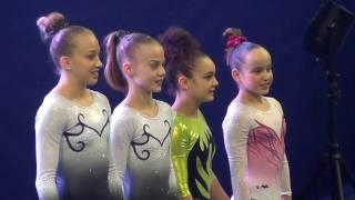 Gym Top 12 - 2017 - Les sélectionnées des Championnats d'Europe