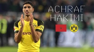 ACHRAF HAKIMI / أشرف حكيمي - Ultimate Skills, Tackles, Assists - Borussia Dortmund - 2018/2019
