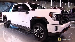2020 GMC Sierra HD AT4 - Exterior and Interior Walkaround - Debut at 2019 Chicago Auto Show