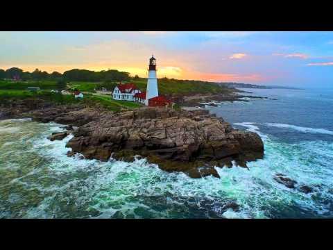 Maine Lighthouses Shot on DJI Inspire 1 4K
