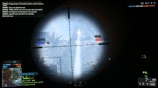 Battlefield 4: One Shot, One Kill - A 40x-zoom, headshot-only journey from 25m to 3007m