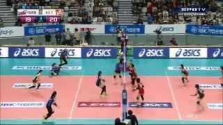 150412 日韓排球對決女子組 - NEC火箭 v.s IBK企業銀行