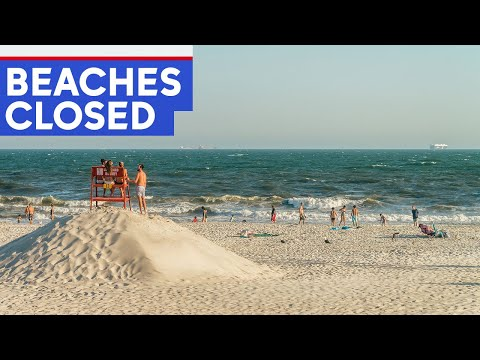 New York City beaches closed Friday and Saturday due to Hurricane Dorian