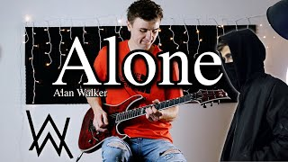 Alone - Alan Walker - Electric Guitar Cover