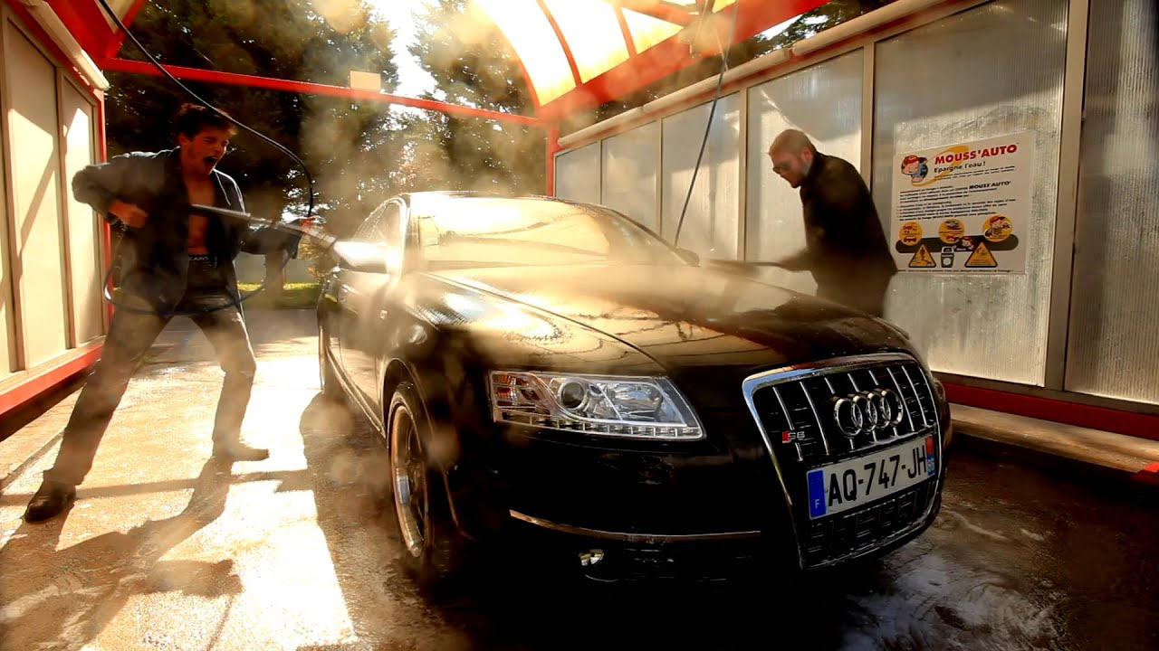 Epic Trash Car Wash Audi S YouTube - Audi car wash
