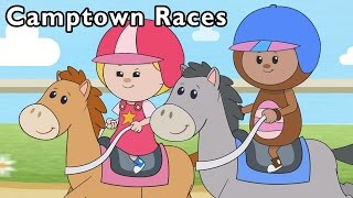 Camptown Races and More | Happy Running Horse Game | Baby Songs from Mother Goose Club!