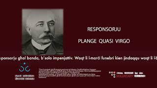 Plange Quasi Virgo - Vincenzo Carabott