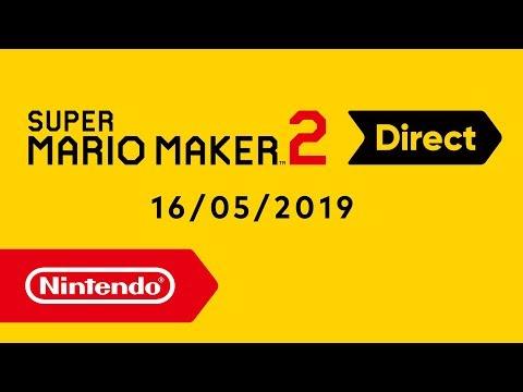 Super Mario Maker 2 Direct - 16-05-2019