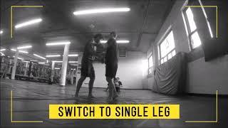 MMA Training | Single Leg Takedowns and Double Leg Takedowns