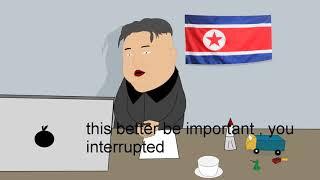 Donald trump and kim jong un phone call