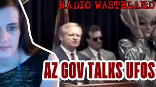 Former Arizona Governor to speak at UFO conference - News From the Wasteland