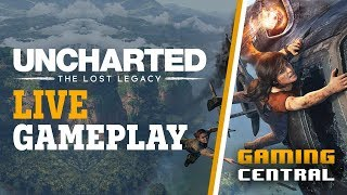Uncharted: The Lost Legacy + Giveaway - Livestream   Powered By HyperX