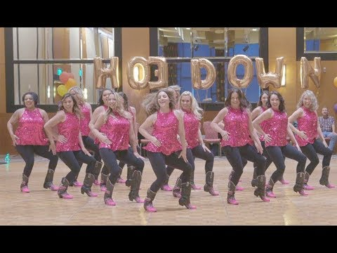 """Russell Dickerson """"Every Little Thing Line Dance""""  (Featuring Boot Boogie Babes)"""