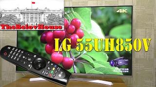 честный обзор 4K телевизора LG 55UH850V, управление со смартфона