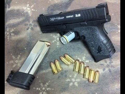"""Springfield Armory XDm .45acp 3.8"""" Compact - First Rounds"""