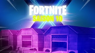RETOUR IN THE PASSE FOR THE SAISON 10 OF FORTNITE ... (PREMIERE TEASER DUSTY DEPOT)