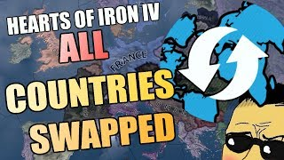 Hearts Of Iron 4 All COUNTRIES SWAPPED