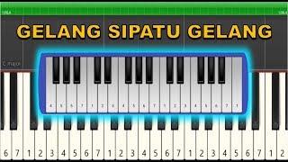 Not Pianika / Not Piano Gelang Sipatu Gelang (Tutorial)