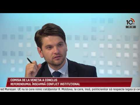 Emisiunea Sfatul Țării din 27.07.2017. Invitat: Alexandru TĂNASE