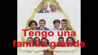 La Familia Grande - Barbara MacArthur - Spanish family vocabulary