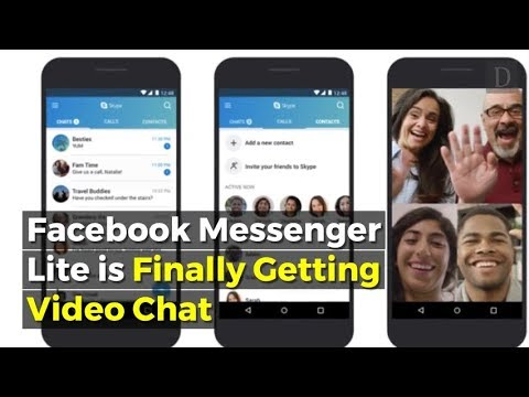 Facebook Messenger Lite Adds Video Chat