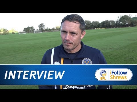 INTERVIEW | Paul Hurst pre Plymouth - Town TV