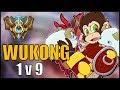 ► WUKONG TOP: ULTIMATE 1v9 [GUIA S7 en ESPAÑOL] - League of Legends