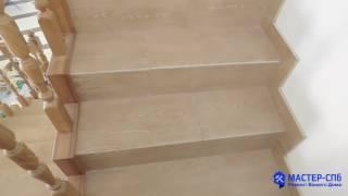 Ремонт лестницы в частном доме пос. Низино