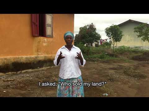 Diamond mining in Africa: Land Corruption in Sierra Leone
