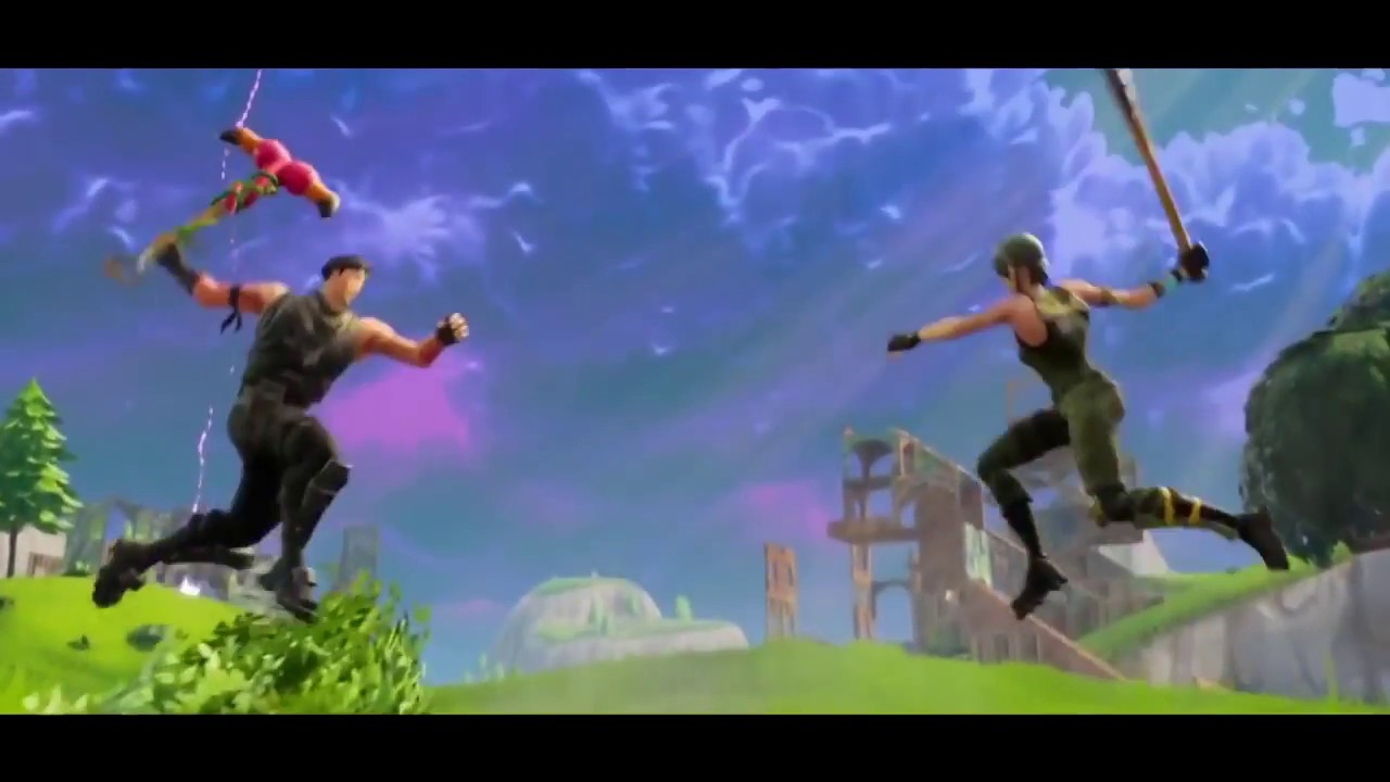 Intro Fortnite Sans Texte Créé Part MNKey - YouTube