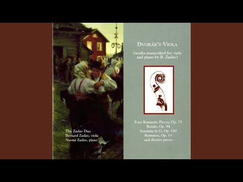 Klid (Silent Woods) , Op. 68, No. 5, B. 173 (arr. B. Zaslav For Viola And Piano)