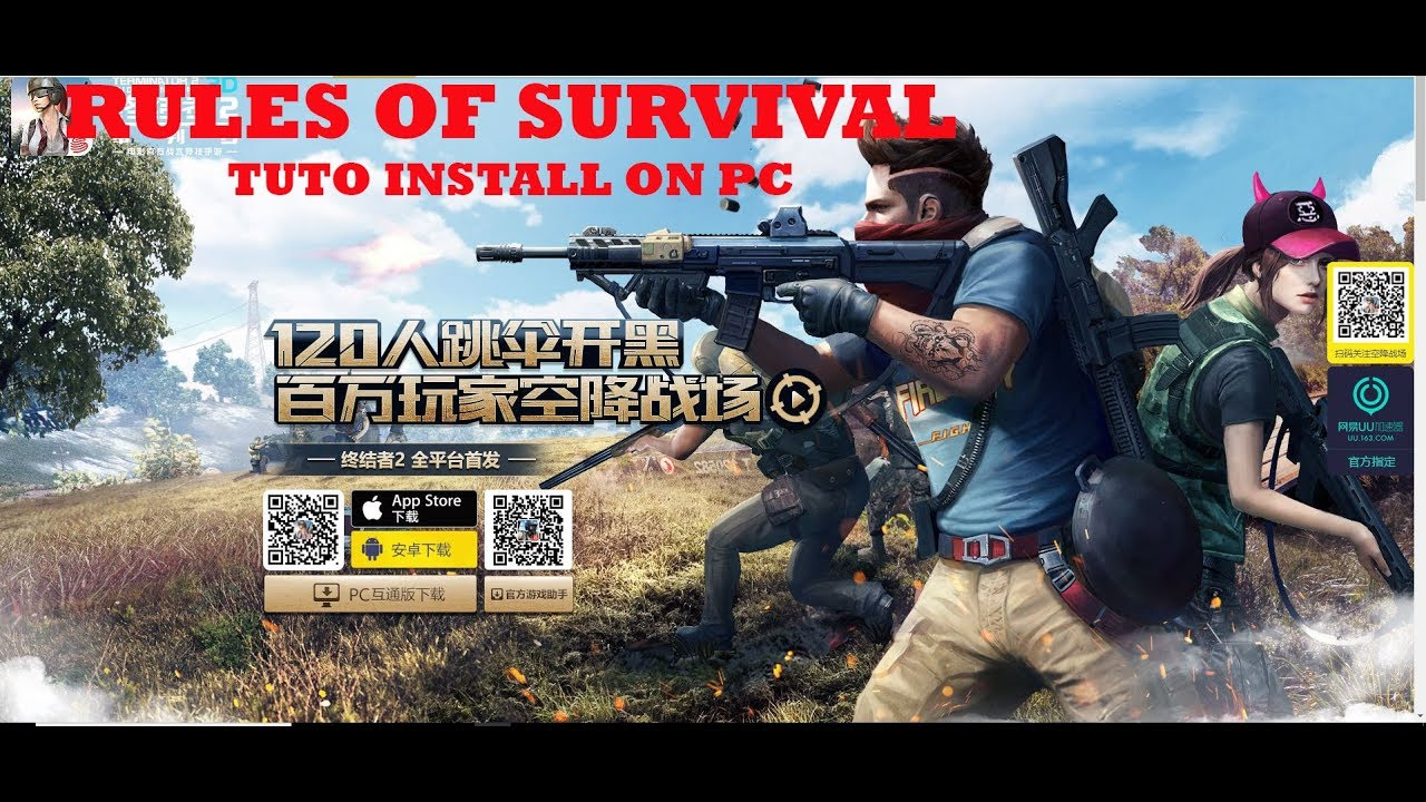 rules of survival app player