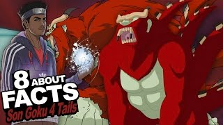 "8 Facts About Son Goku The 4 Tailed Beast You Should Know!!! w/ Stahtz ""Naruto Shippuden Anime"""