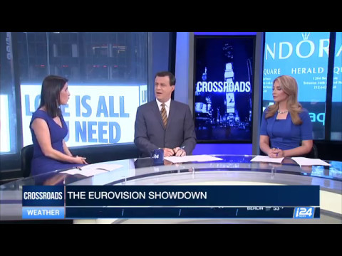 Thumbnail: Explaining Eurovision to American audience on #i24NEWS #CROSSROADS
