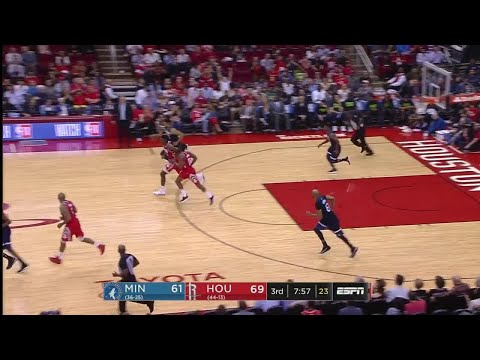3rd Quarter, One Box Video: Houston Rockets vs. Minnesota Timberwolves