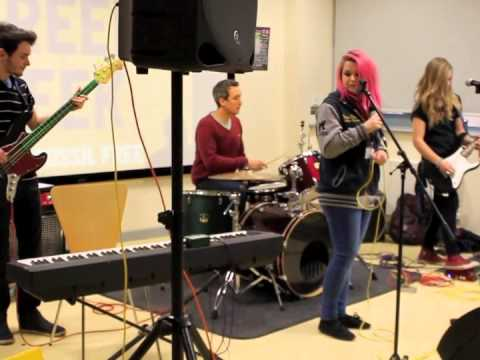 Level 2 Music students Live Performance at Canterbury College