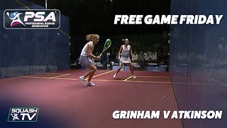 Squash: Grinham v Atkinson - Free Game Friday - British Open 2004