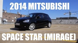 (ENG) Mitsubishi Space Star (Mirage) - Test Drive and Review