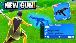 "The New FORTNITE SMG GAMEPLAY! ""New Submachine Gun"" GAMEPLAY! NEW SMG Gameplay Fortnite v5.0"