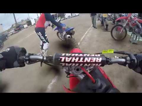 Ventura Raceway 6-16-18 pit bike heat 125 150