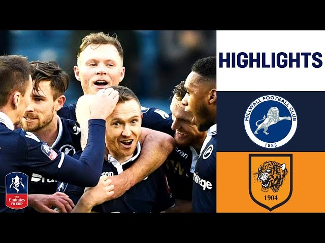 Two Late Ferguson Goals Earns Victory for the Lions | Millwall 2-1 Hull | Emirates FA Cup 18/19
