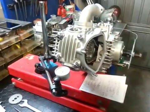 (ITA) Distribuzione camme LCA motore 4 tempi YX 150 GPX ZS155 Monkey DAX Pitbike MiniGP
