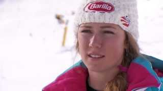 Mikaela Shiffrin Interview - FIS Ski-Weltcup Sölden (engl. Version)