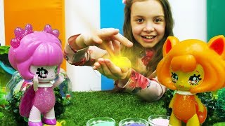 Лесные феи Glimmies и  волшебный шарик - Игры в куклы