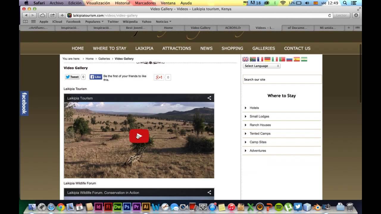 e9755870c EJEMPLOS PAGINAS WEB DINAMICAS - YouTube